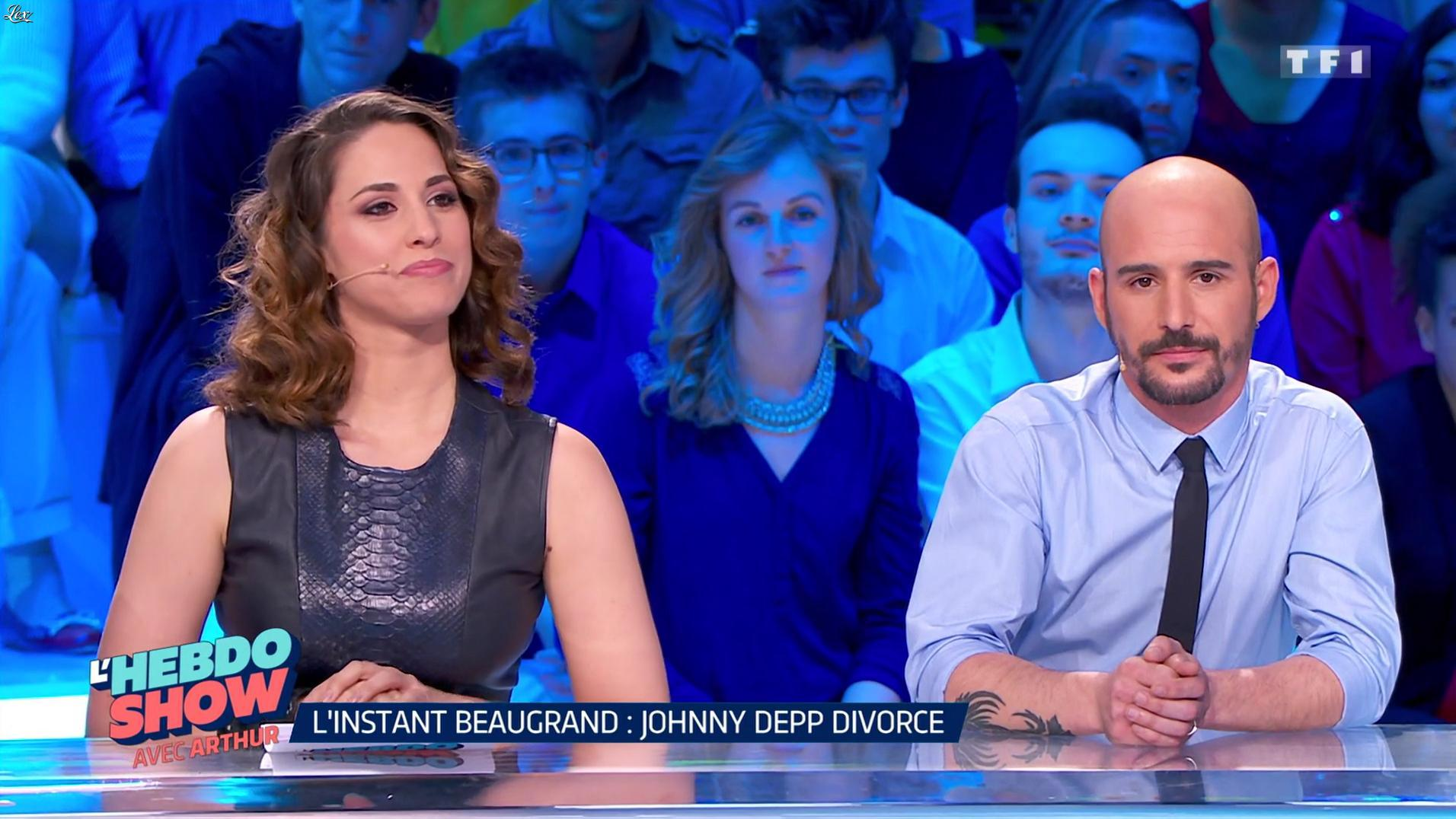 Charlotte Namura dans l'Hebdo Show. Diffusé à la télévision le 27/05/16.