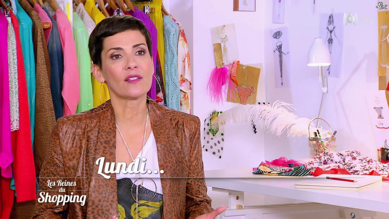 Cristina Cordula dans les Reines du Shopping. Diffusé à la télévision le 25/03/16.
