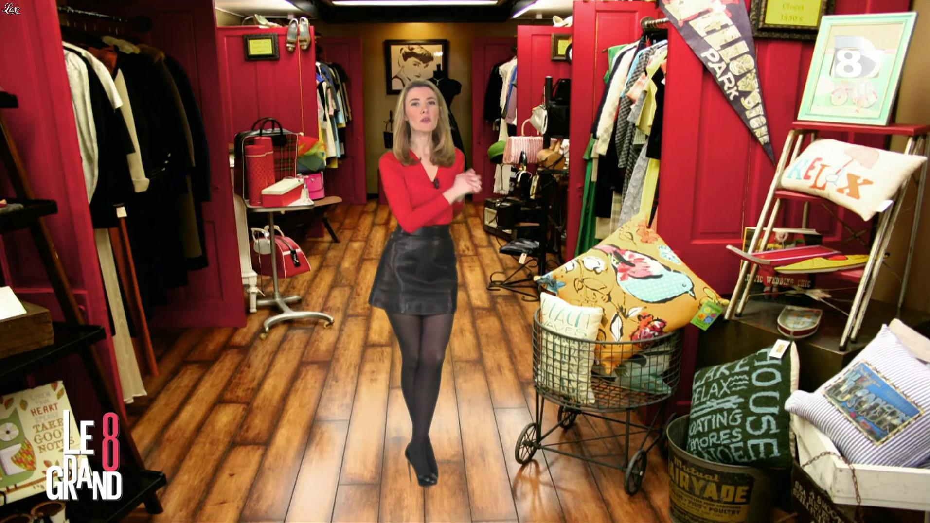 Elisabeth Bost dans le Grand 8. Diffusé à la télévision le 13/04/16.