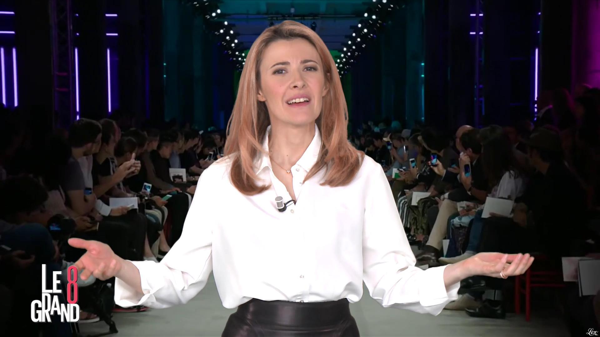 Elisabeth Bost dans le Grand 8. Diffusé à la télévision le 20/04/16.