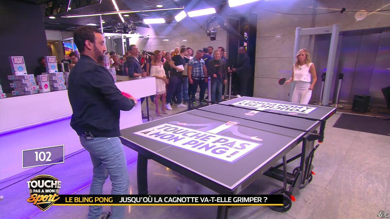 Enora Malagré dans Touche pas à mon Sport. Diffusé à la télévision le 21/06/16.