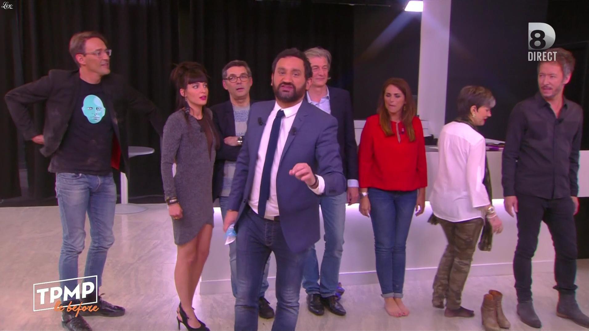 Erika Moulet dans Touche pas à mon Poste. Diffusé à la télévision le 10/05/16.