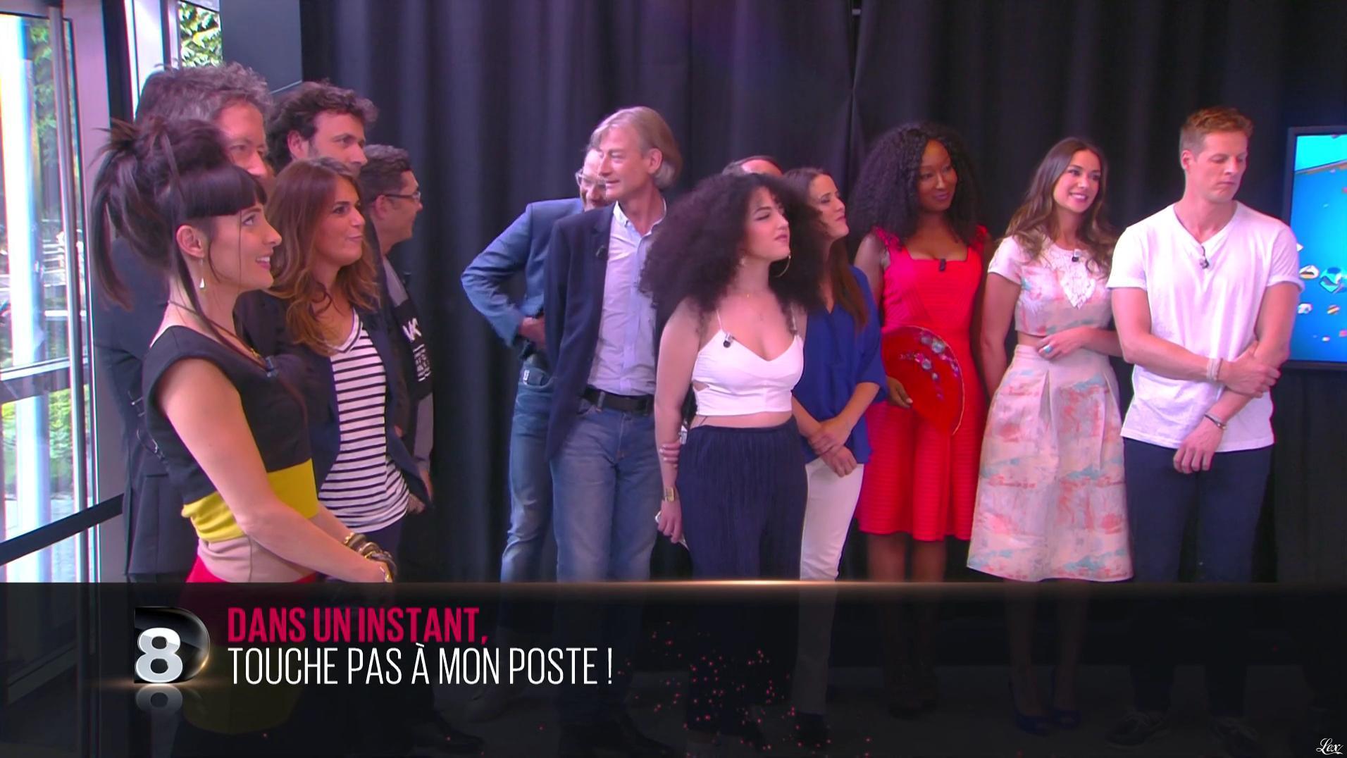 Erika Moulet dans Touche pas à mon Poste. Diffusé à la télévision le 23/06/16.
