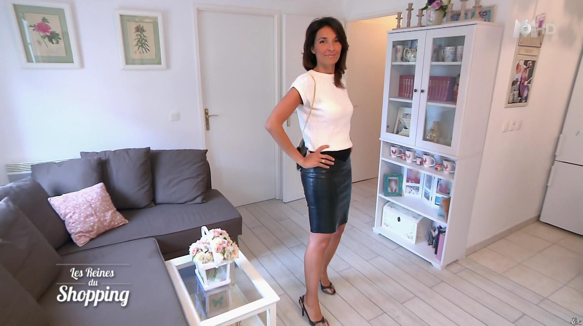 Fouzia dans les Reines du Shopping. Diffusé à la télévision le 30/03/16.