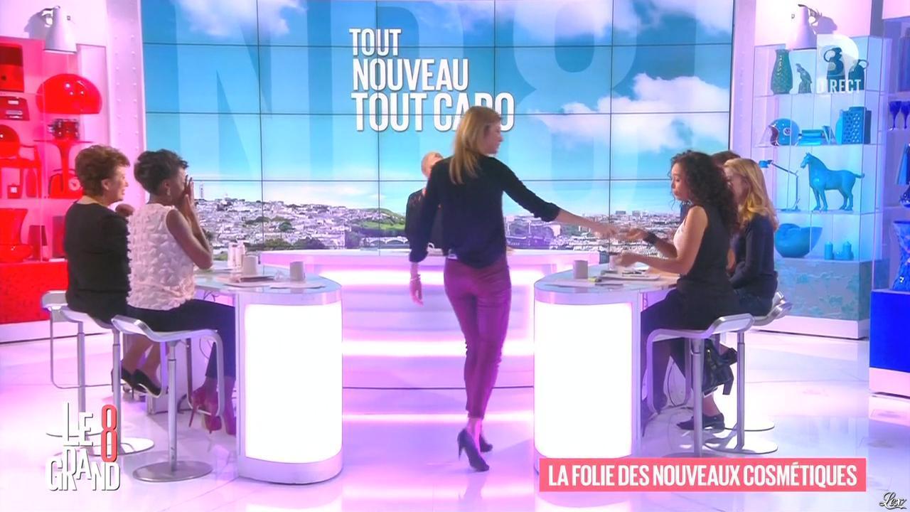 Hapsatou Sy, Aïda Touihri et Caroline Ithurbide dans le Grand 8. Diffusé à la télévision le 01/03/16.