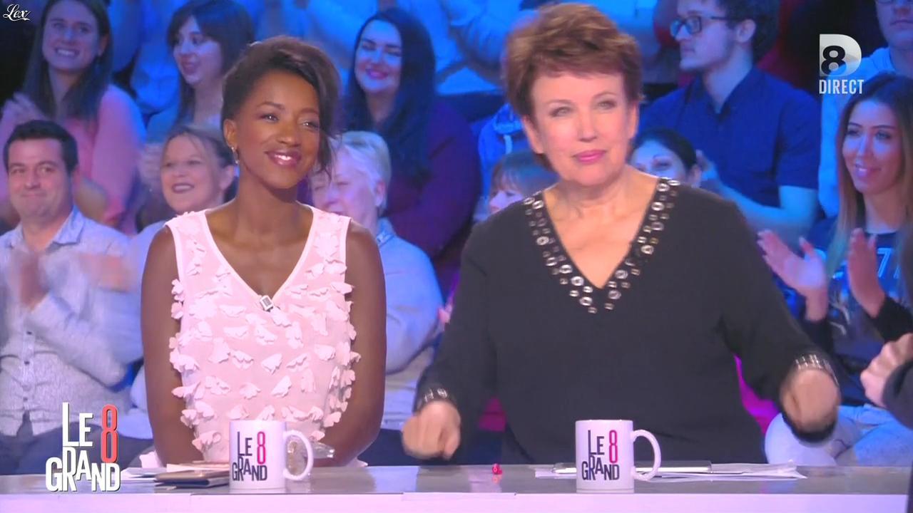 Hapsatou Sy dans le Grand 8. Diffusé à la télévision le 01/03/16.
