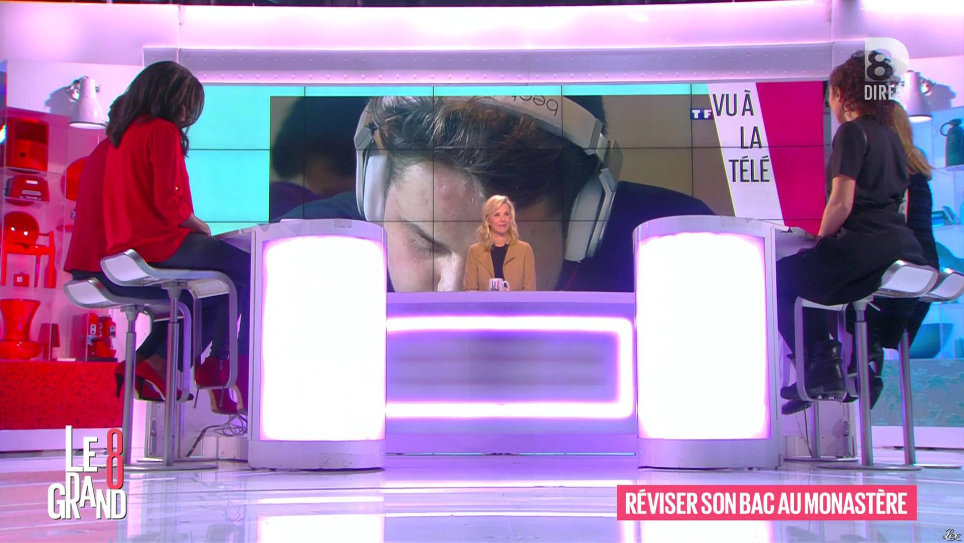 Hapsatou Sy dans le Grand 8. Diffusé à la télévision le 26/04/16.
