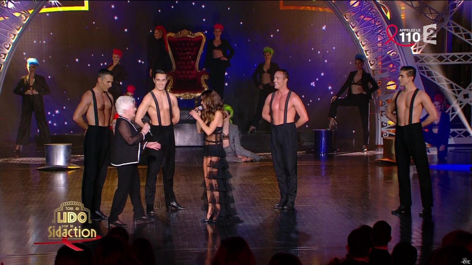 Jenifer Bartoli dans Tous au Lido pour le Sidaction. Diffusé à la télévision le 02/04/16.