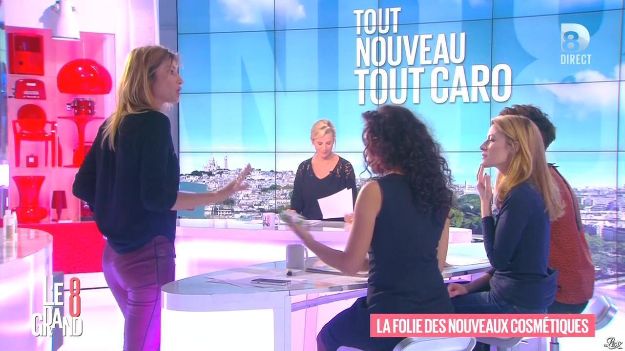 Laurence Ferrari, Aïda Touihri et Caroline Ithurbide dans le Grand 8. Diffusé à la télévision le 01/03/16.