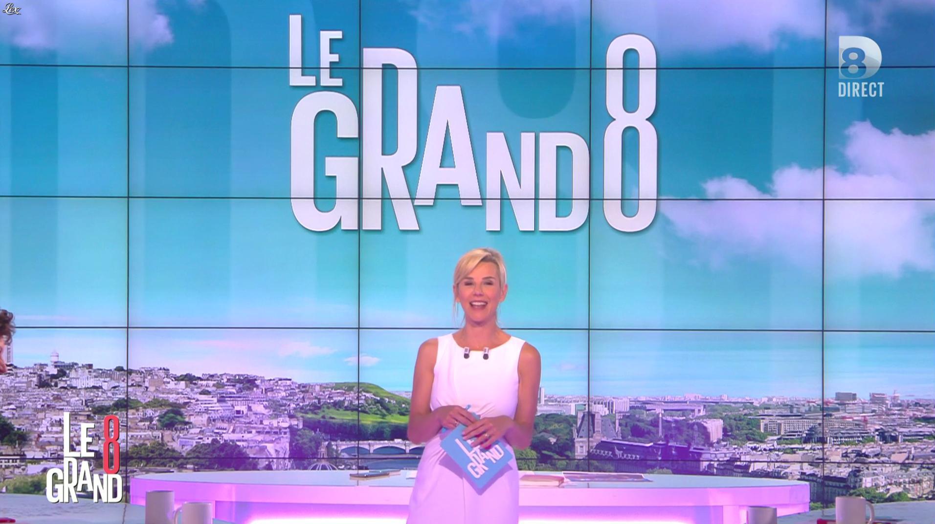 Laurence Ferrari dans le Grand 8. Diffusé à la télévision le 24/05/16.