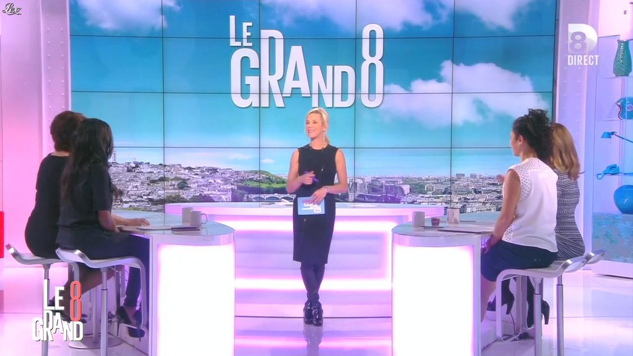 Laurence Ferrari dans le Grand 8. Diffusé à la télévision le 30/03/16.