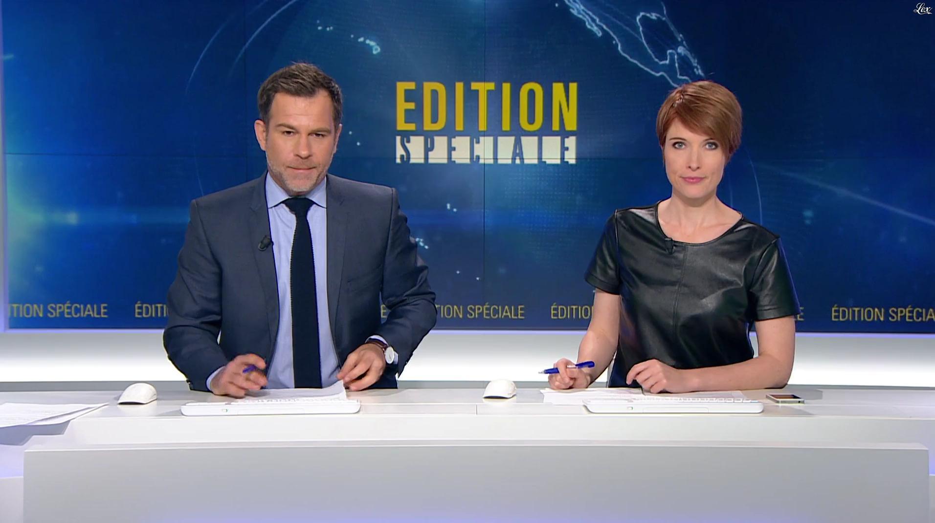 Lucie Nuttin dans BFM TV. Diffusé à la télévision le 19/05/16.