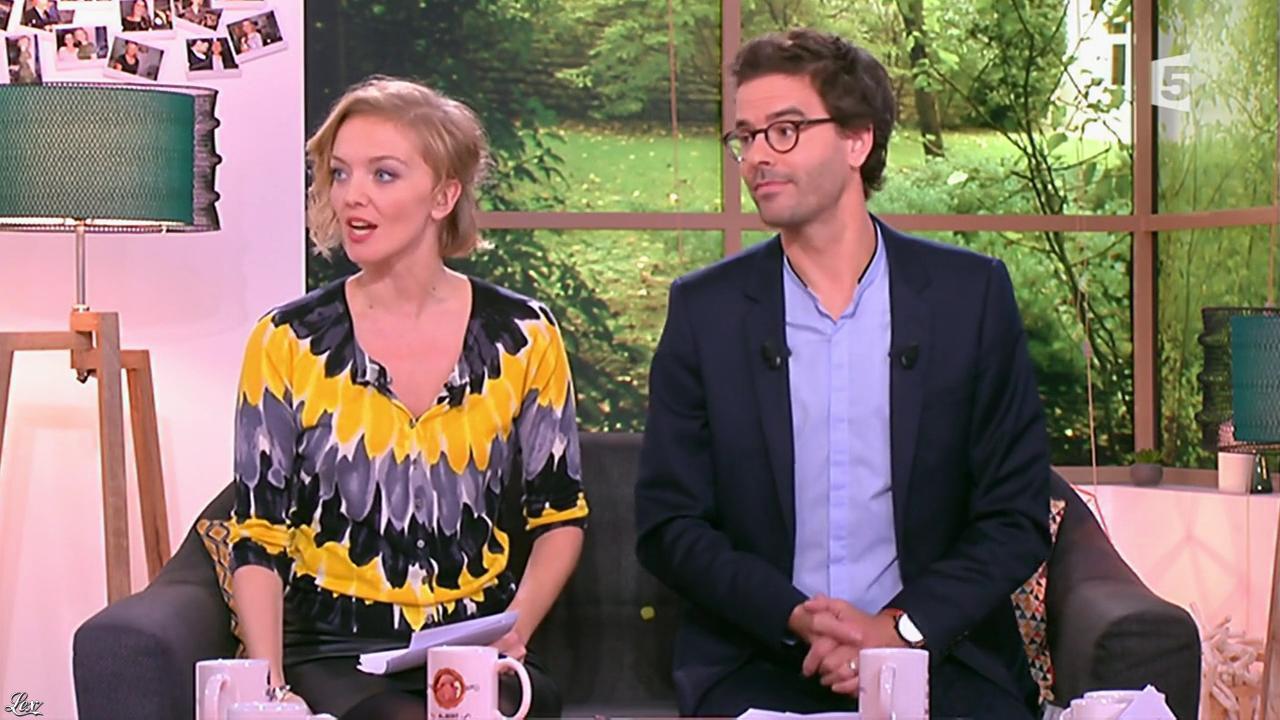 Maya Lauqué dans la Quotidienne. Diffusé à la télévision le 26/10/15.