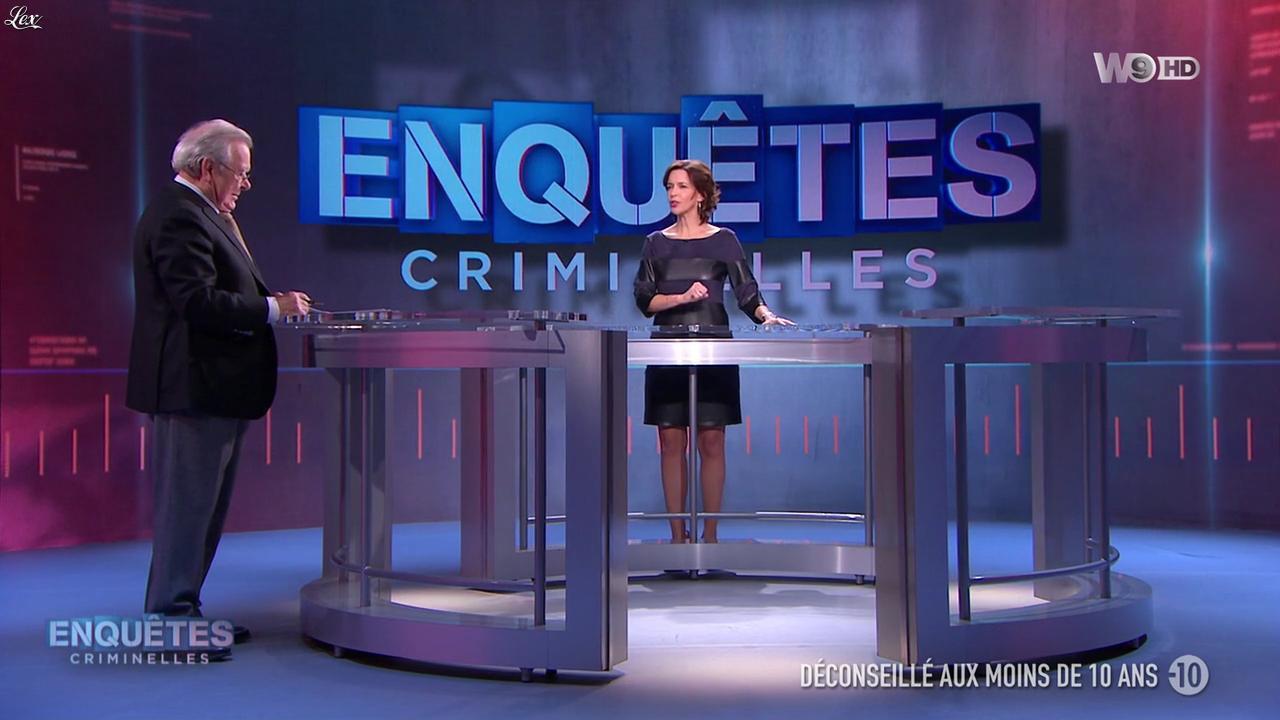 Nathalie Renoux dans Enquêtes Criminelles. Diffusé à la télévision le 01/06/16.