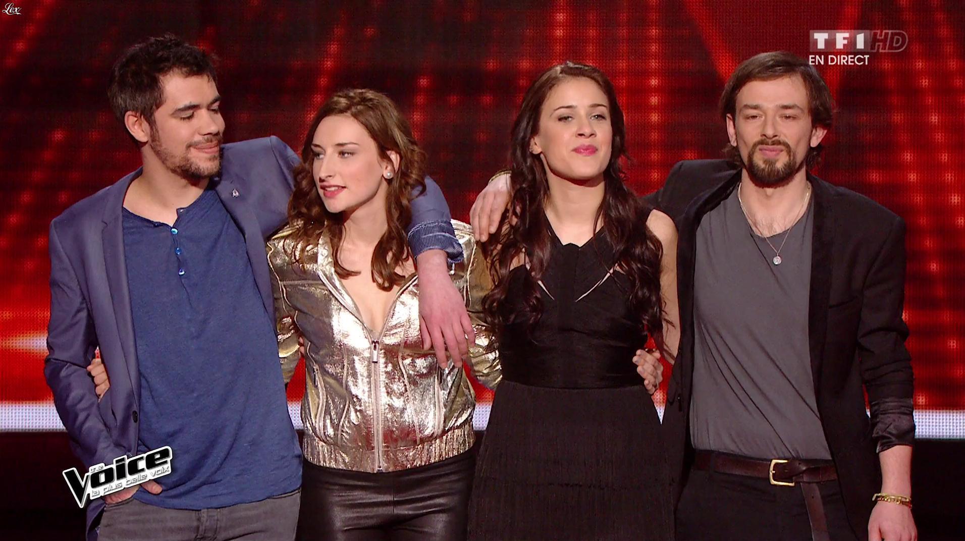 Philippine dans The Voice. Diffusé à la télévision le 23/04/16.