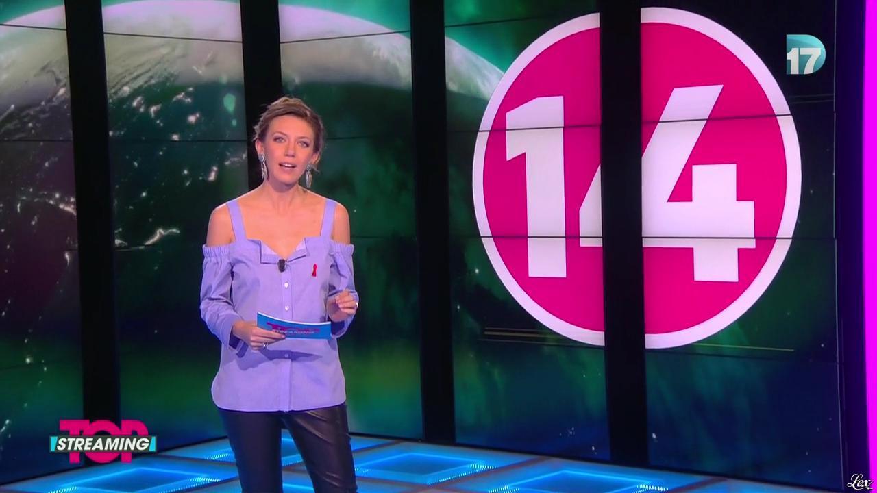 Salome Lagresle dans Top Streaming. Diffusé à la télévision le 05/04/16.