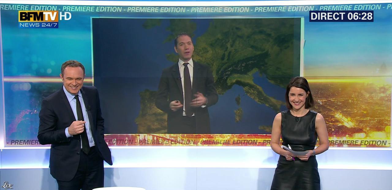 Sandra Gandoin dans Première Edition. Diffusé à la télévision le 08/03/16.