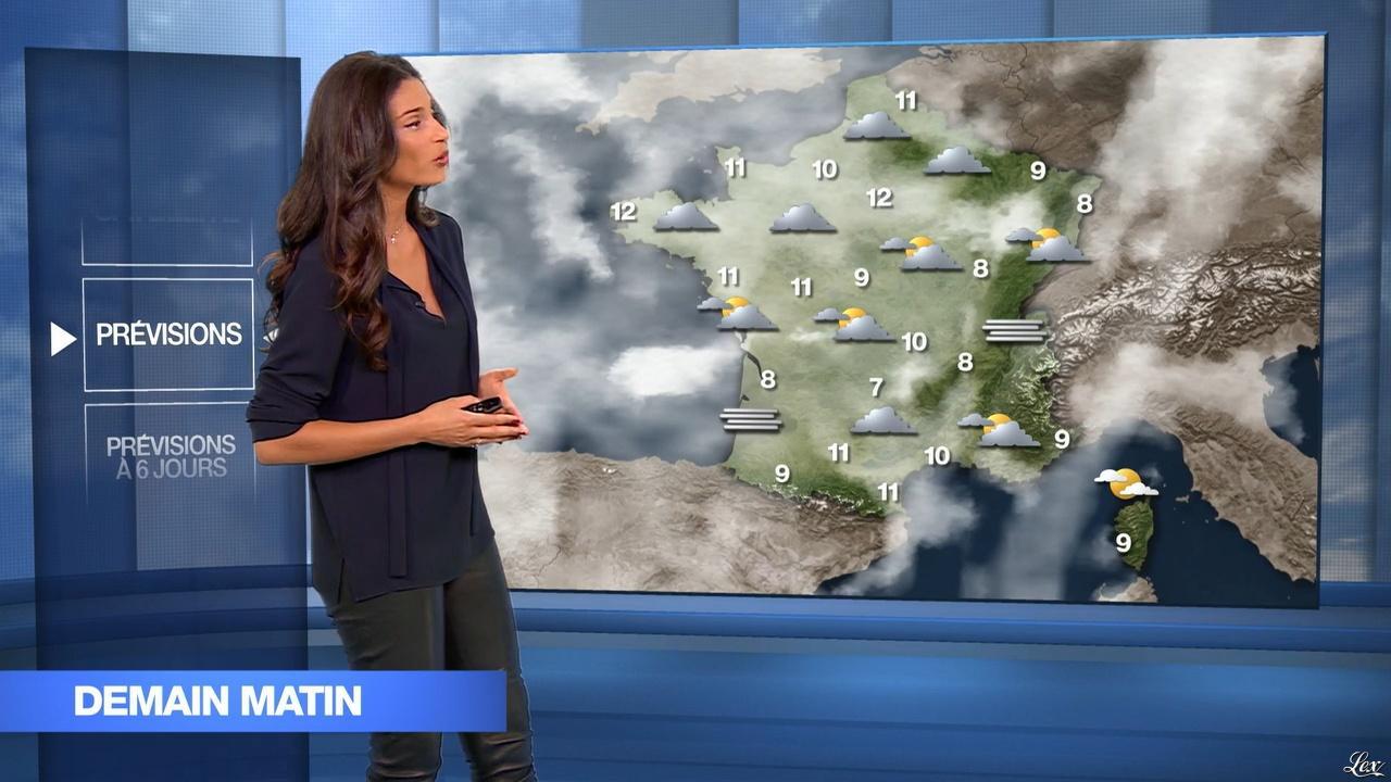 Tatiana Silva dans le 19-45. Diffusé à la télévision le 17/12/15.