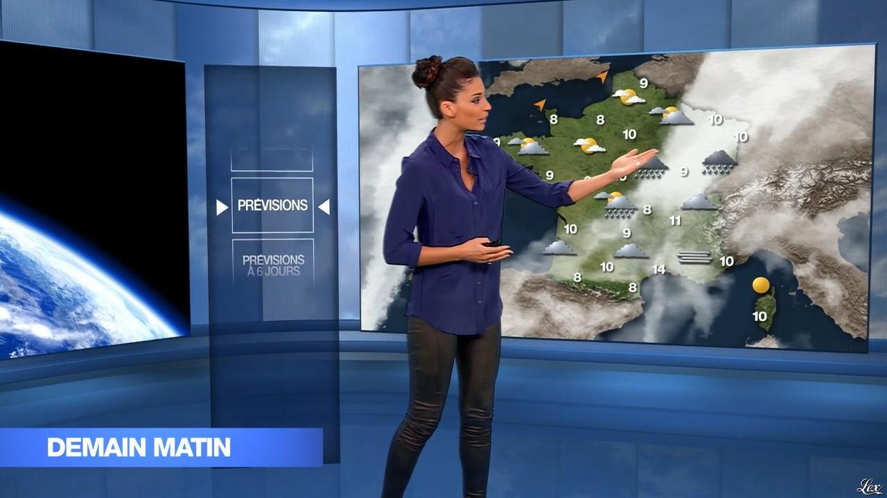 Tatiana Silva dans le 19-45. Diffusé à la télévision le 20/12/15.
