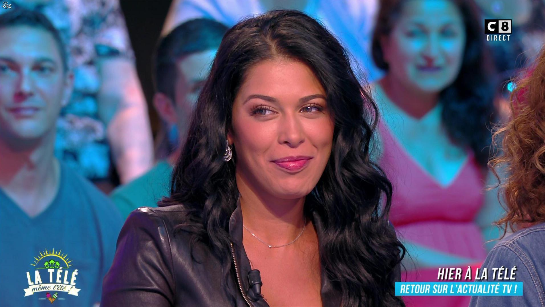 Ayem Nour dans la Télé, même l'été. Diffusé à la télévision le 29/06/18.
