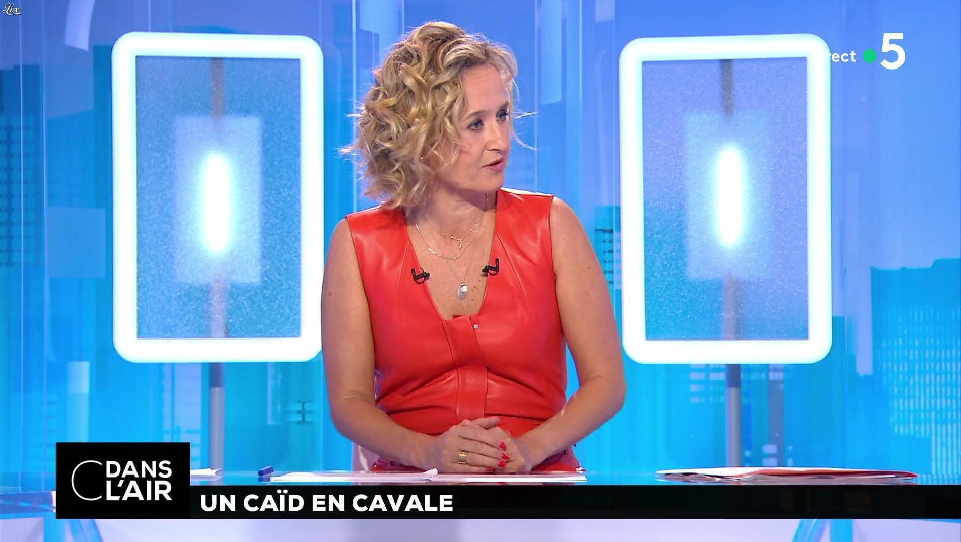 Caroline Roux dans C dans l'Air. Diffusé à la télévision le 02/07/18.