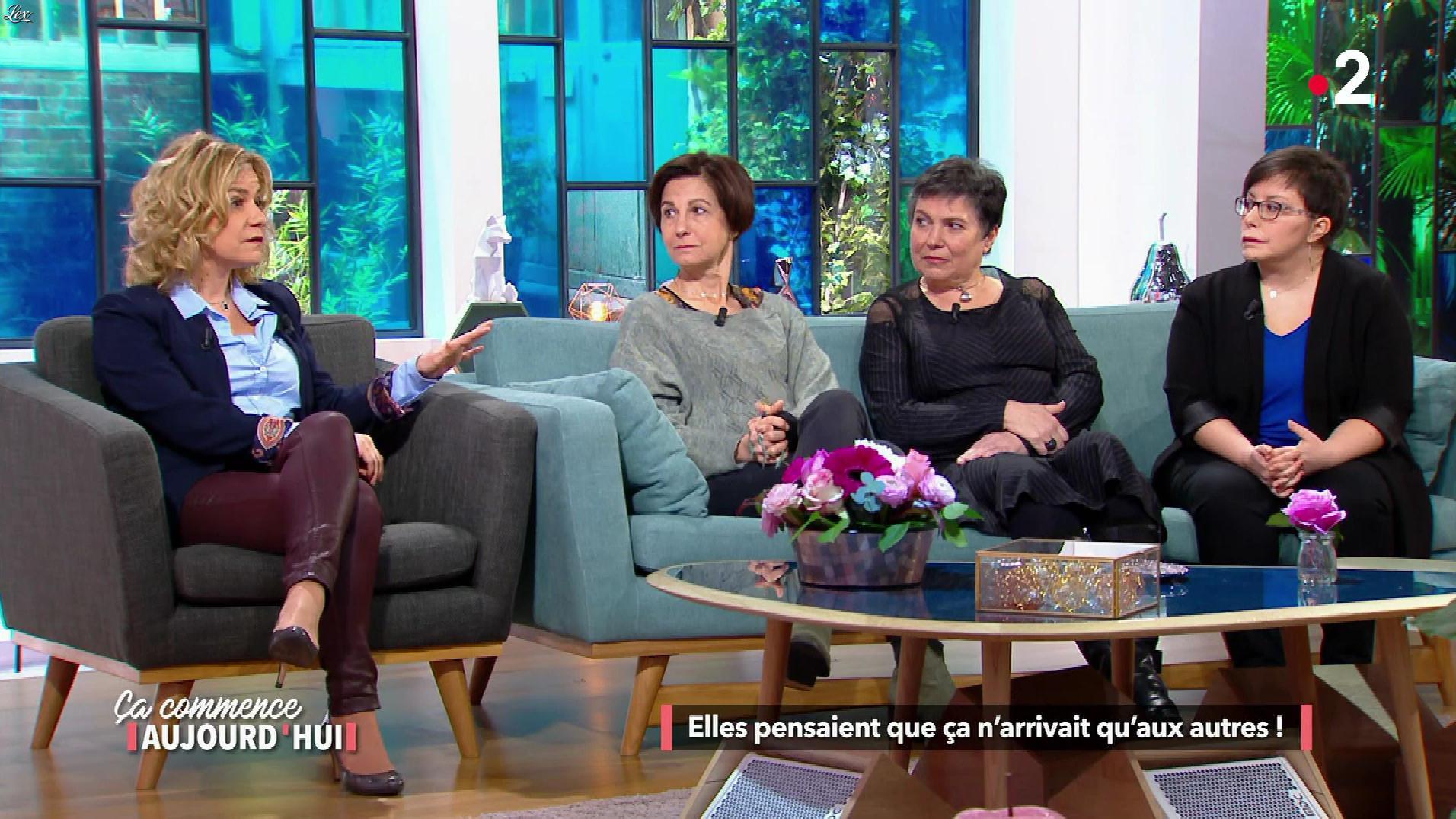 Christele Albaret dans Ça Commence Aujourd'hui. Diffusé à la télévision le 03/05/18.