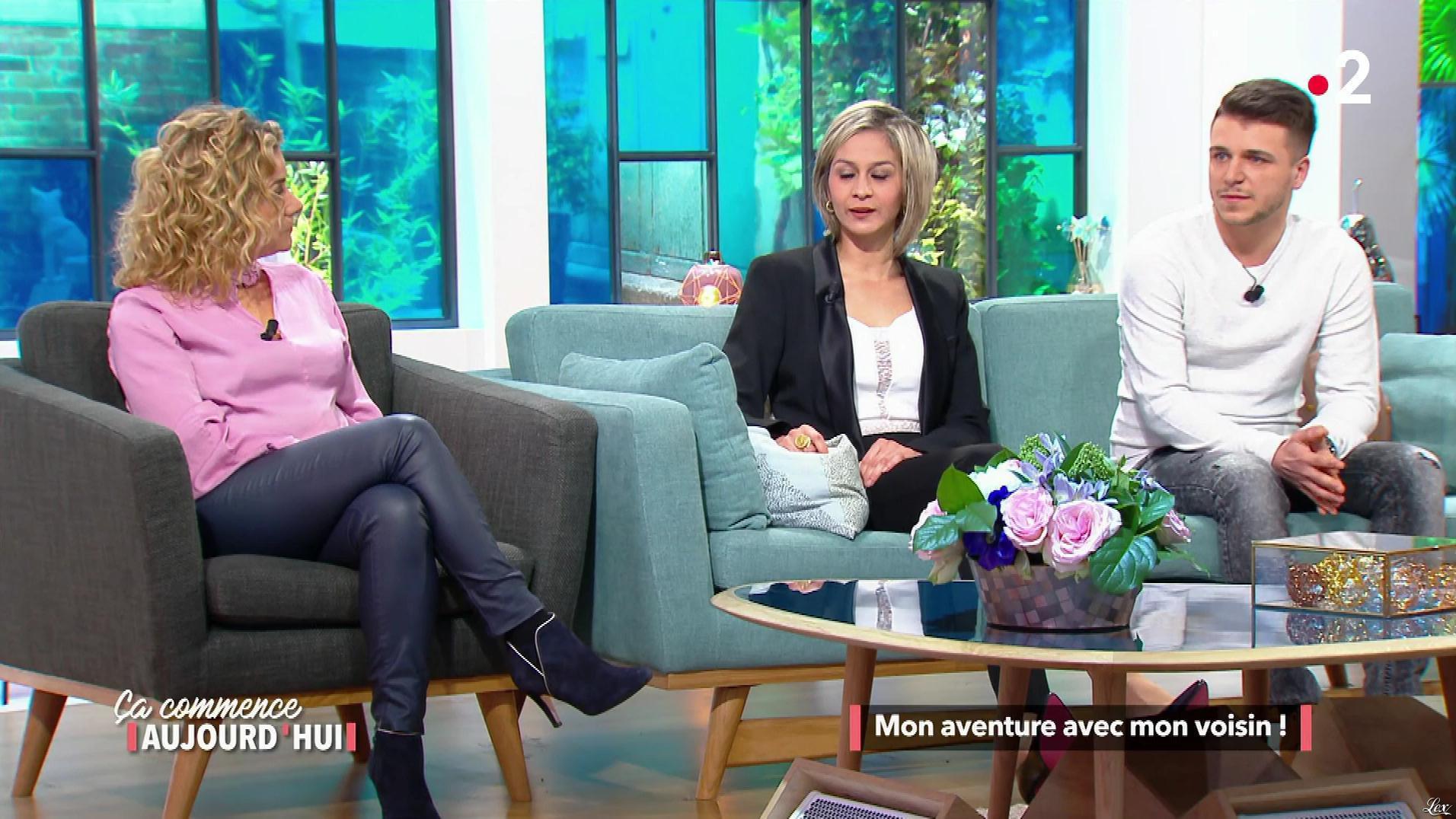Christele Albaret dans Ça Commence Aujourd'hui. Diffusé à la télévision le 13/06/18.