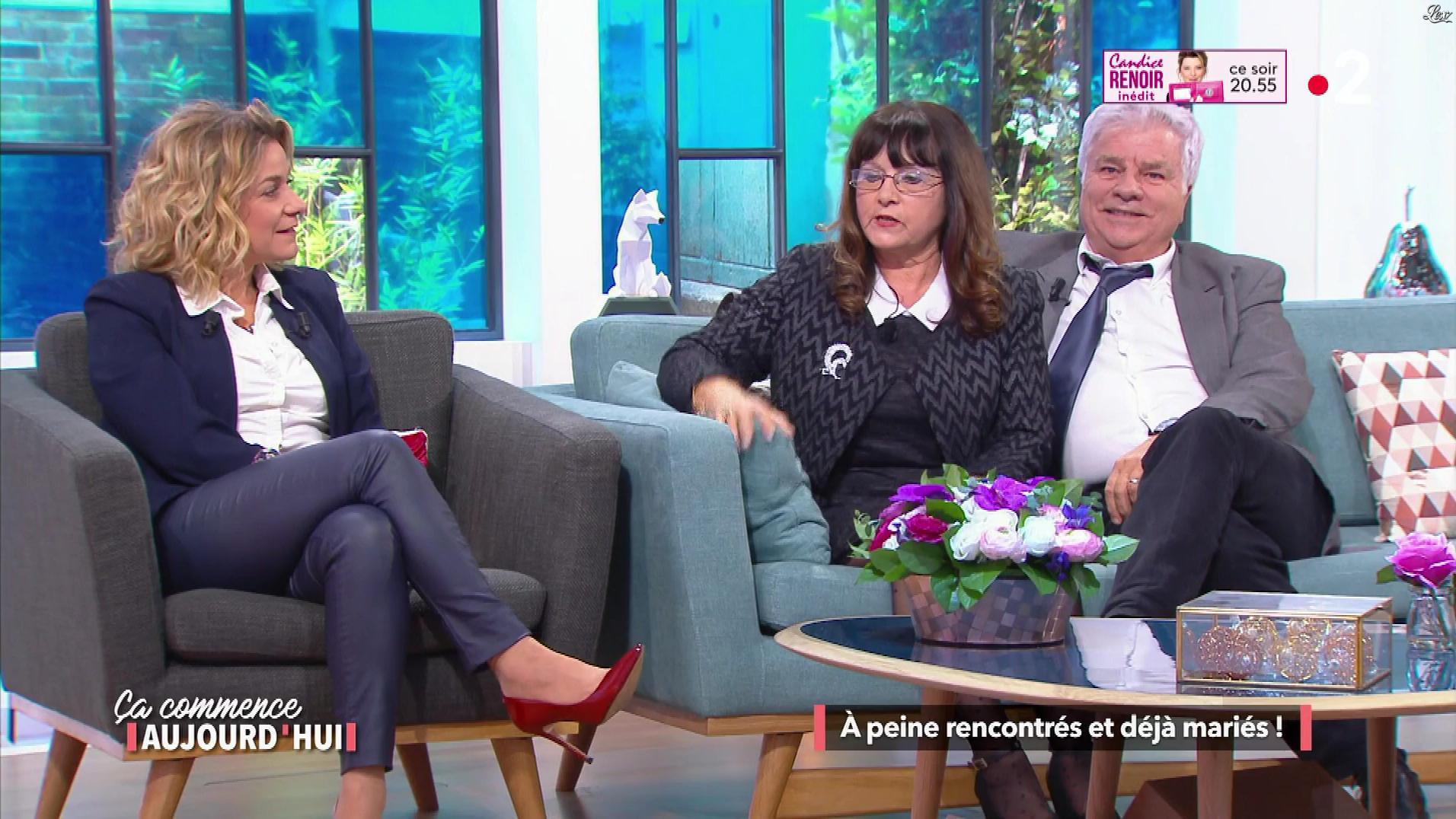 Christèle Albaret dans Ça Commence Aujourd'hui. Diffusé à la télévision le 18/05/18.