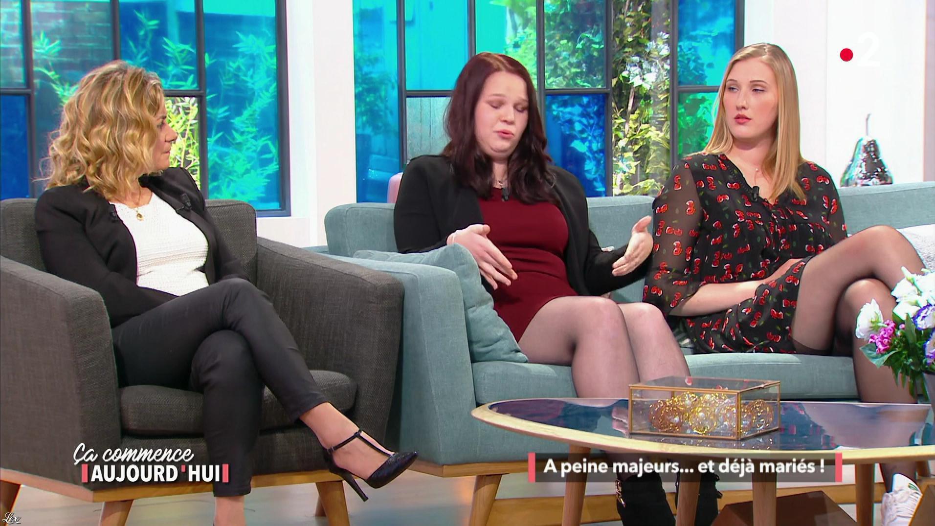 Christèle Albaret dans Ça Commence Aujourd'hui. Diffusé à la télévision le 25/04/18.