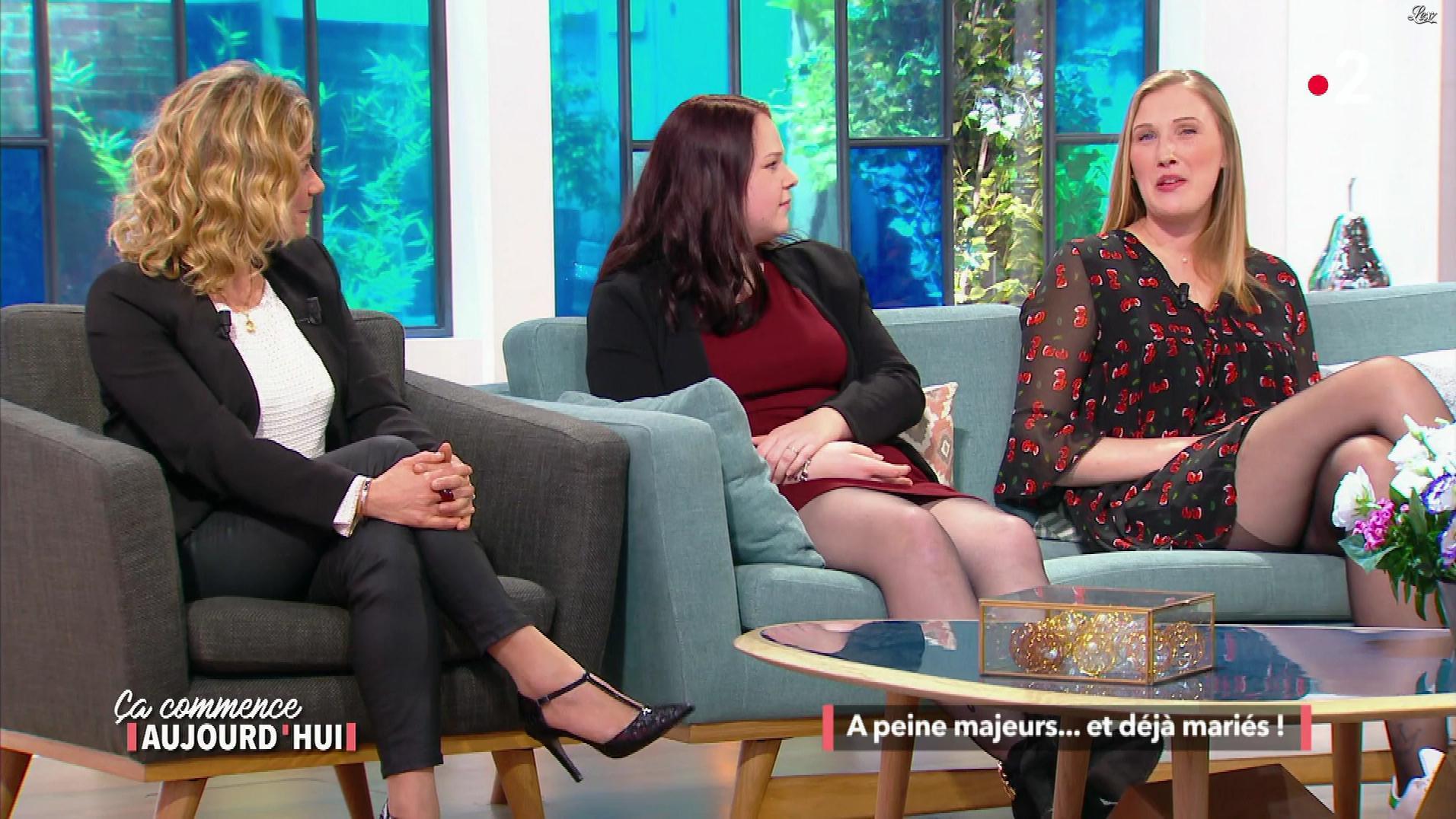 Christele Albaret dans Ça Commence Aujourd'hui. Diffusé à la télévision le 25/04/18.