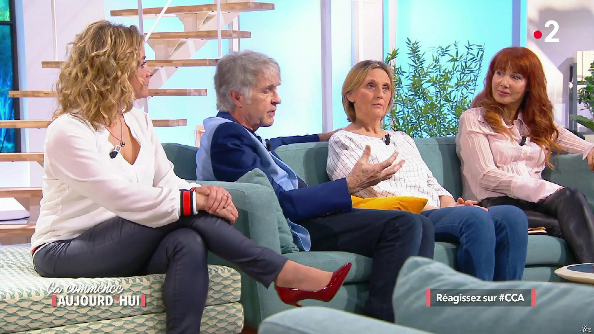 Christele Albaret et une Inconnue dans Ça Commence Aujourd'hui. Diffusé à la télévision le 04/04/18.