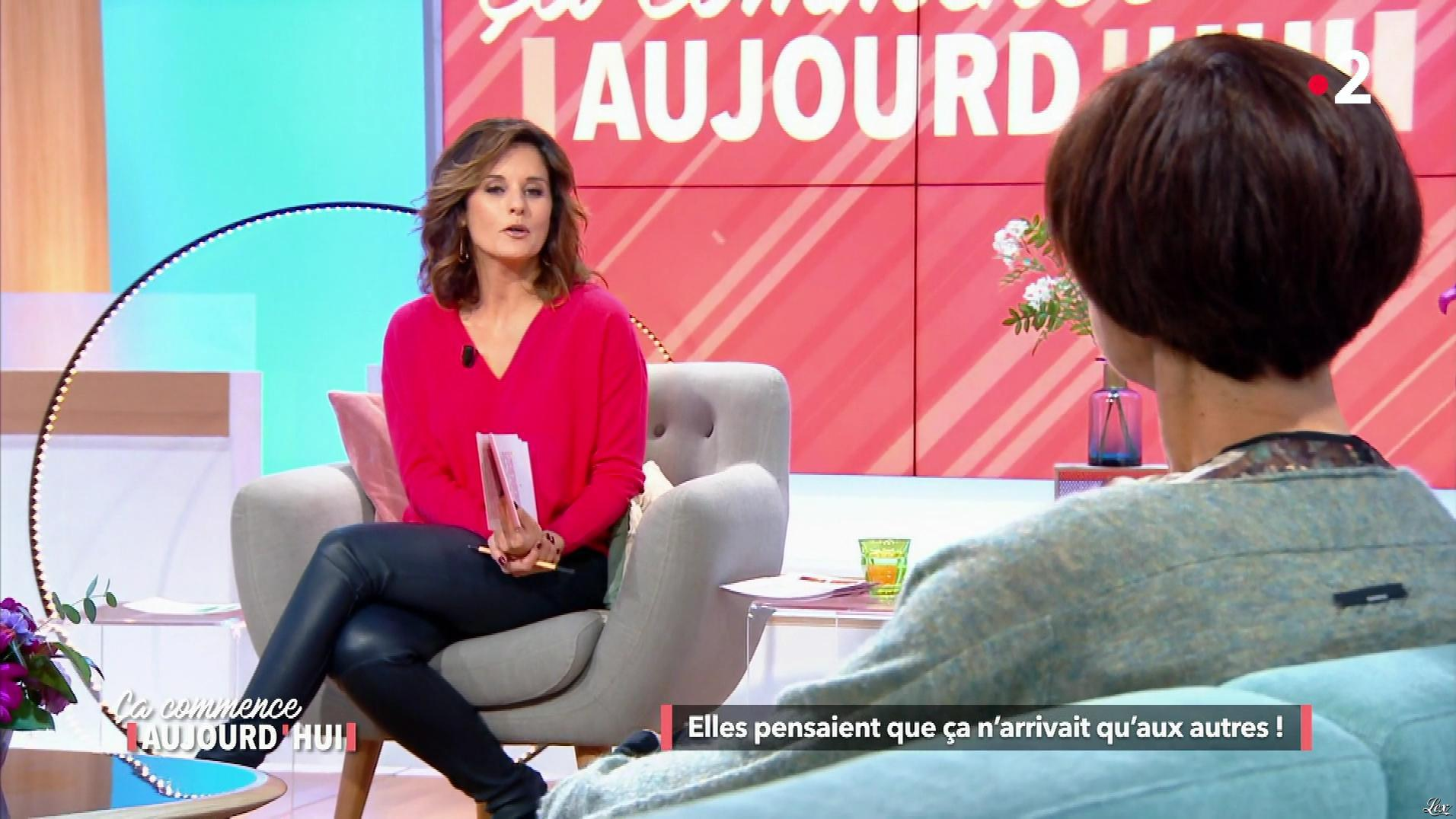 Faustine Bollaert dans Ça Commence Aujourd'hui. Diffusé à la télévision le 03/05/18.