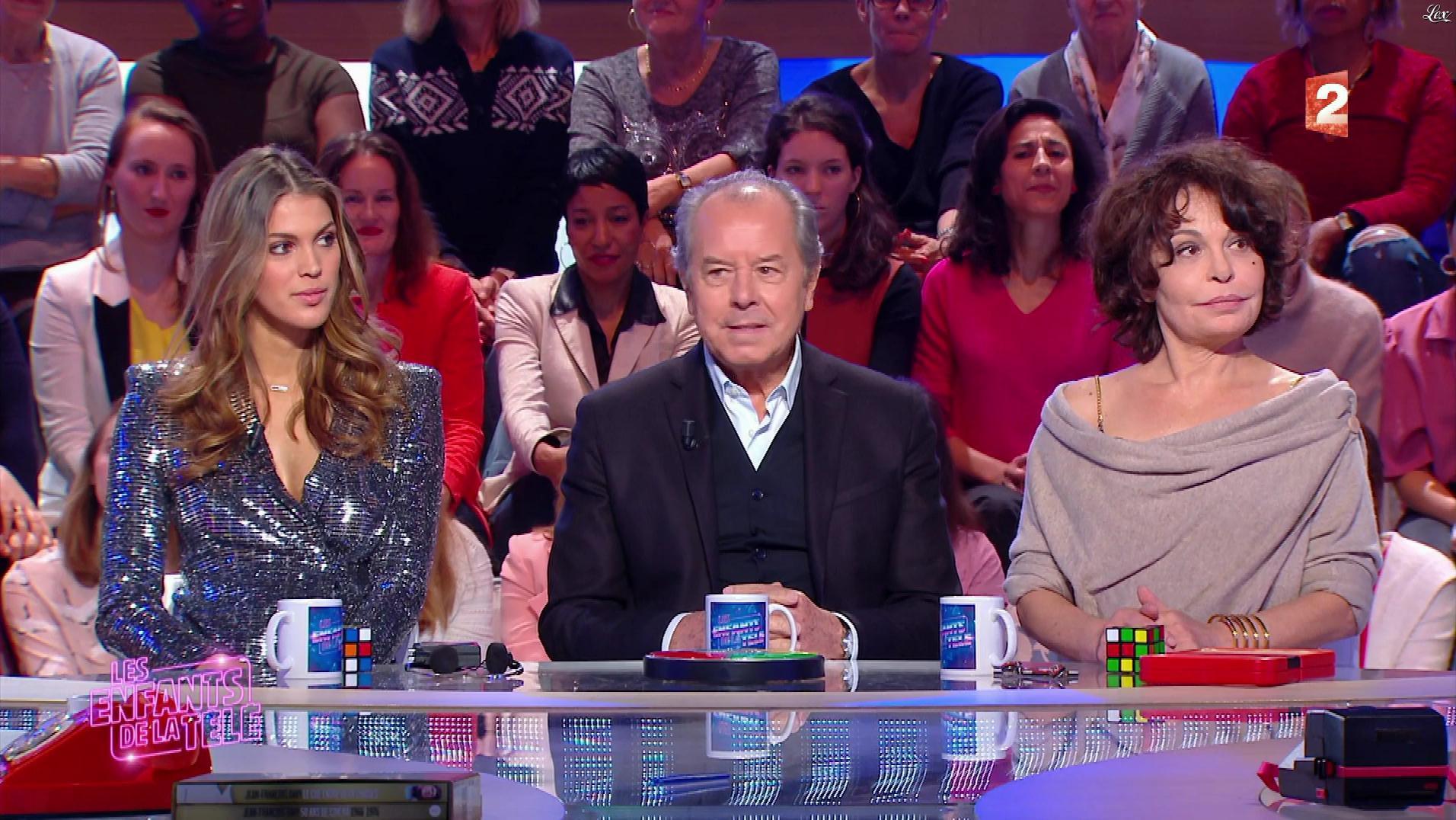 Iris Mittenaere dans les Enfants de la Télé. Diffusé à la télévision le 28/12/17.