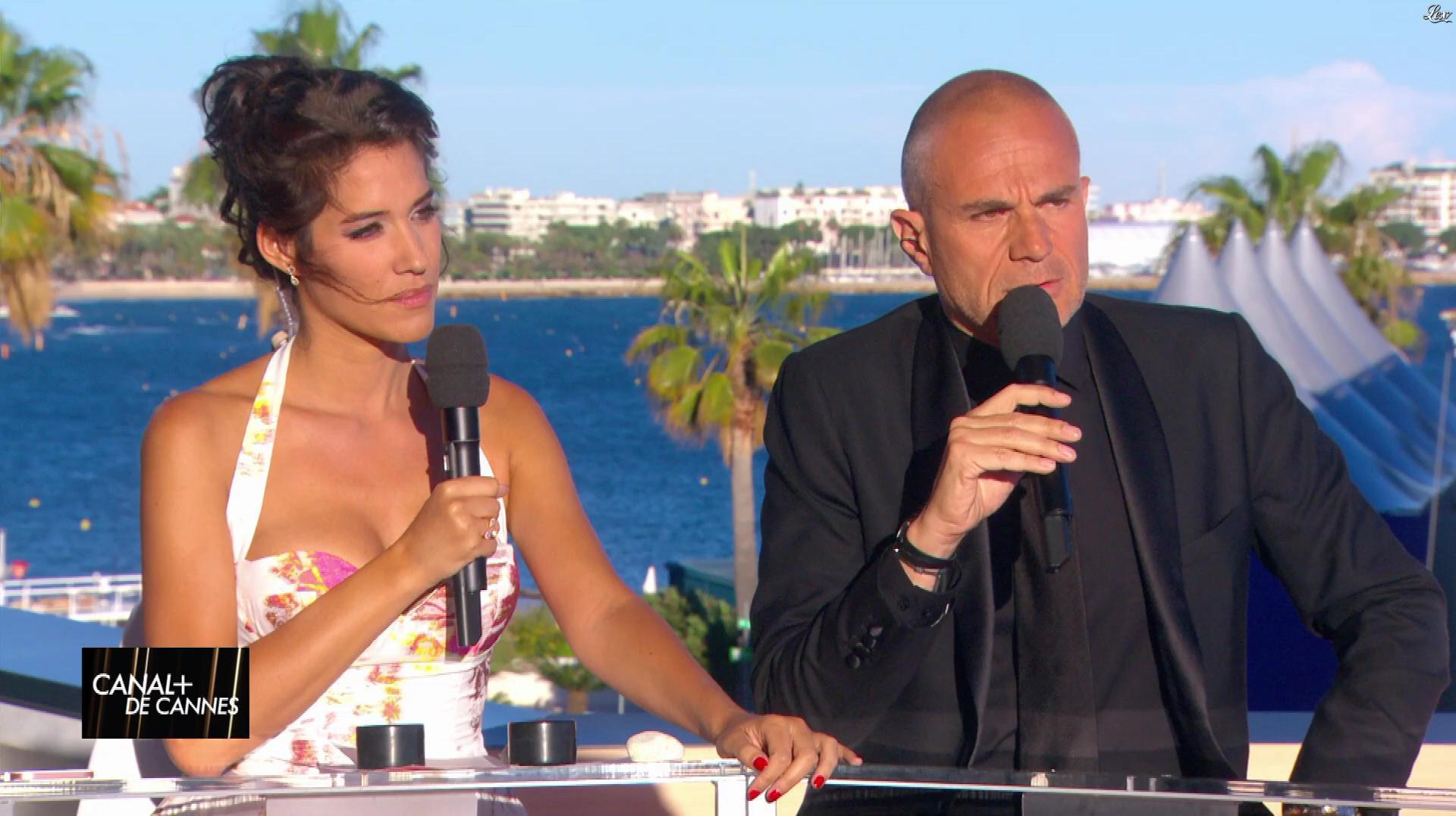 Laurie Cholewa dans Canal Plus de Cannes. Diffusé à la télévision le 19/05/17.