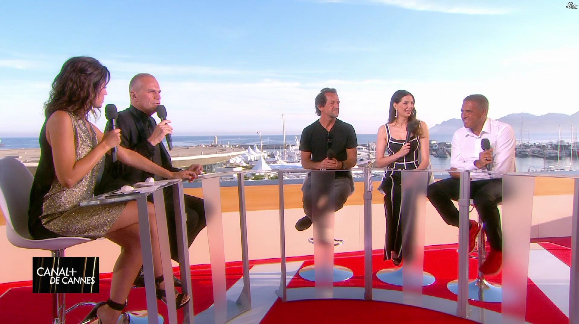 Laurie Cholewa dans Canal Plus de Cannes. Diffusé à la télévision le 23/05/17.