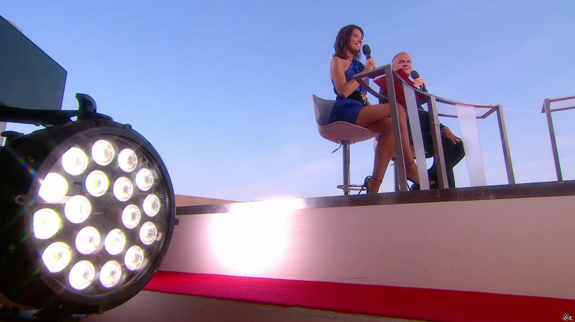 Laurie Cholewa dans Canal Plus de Cannes. Diffusé à la télévision le 24/05/17.