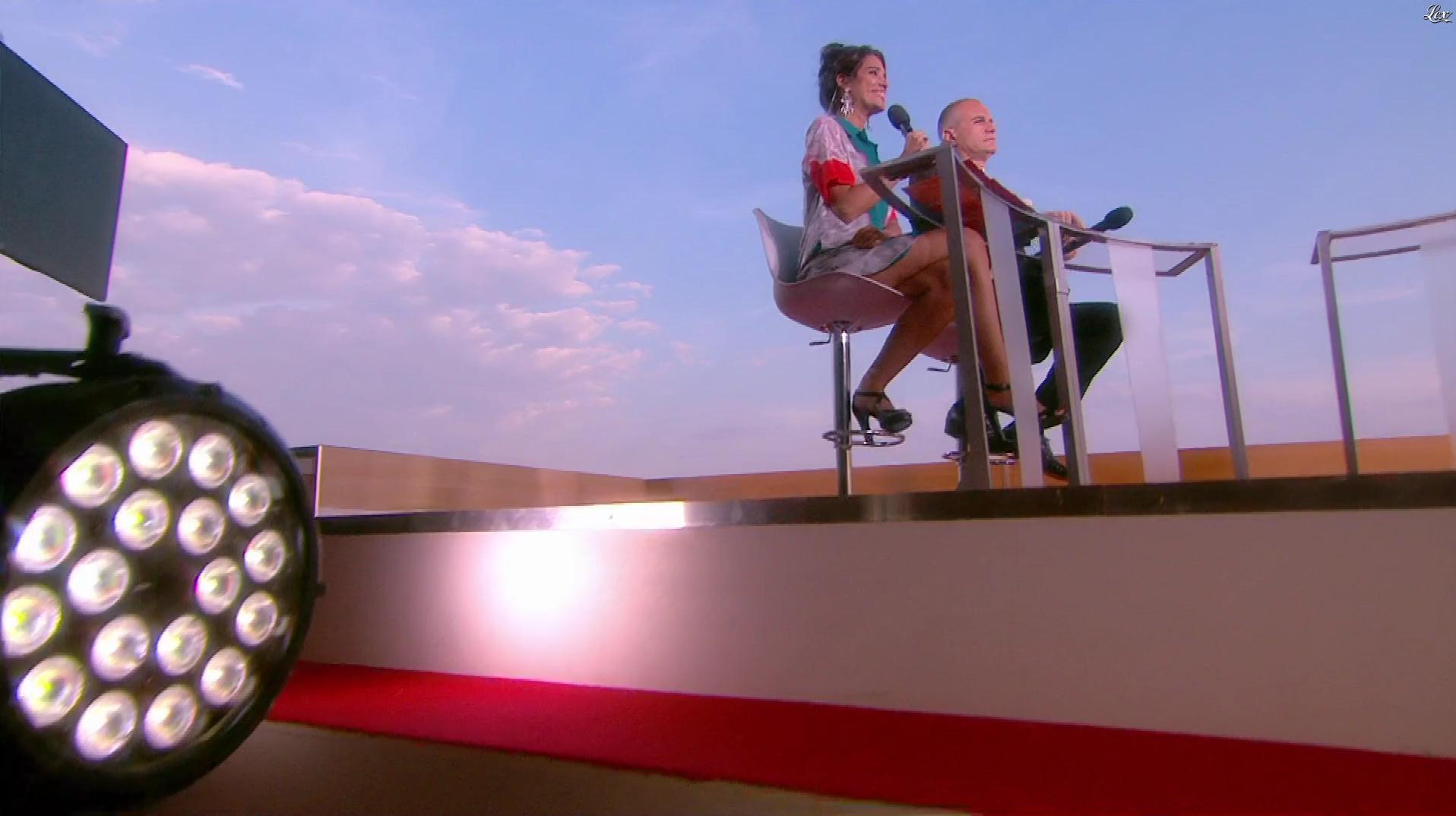 Laurie Cholewa dans Canal Plus de Cannes. Diffusé à la télévision le 25/05/17.