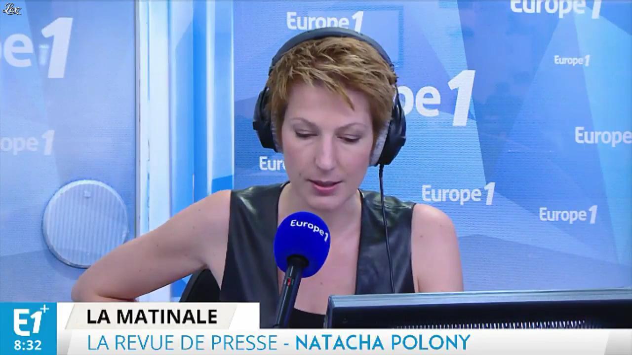 Natacha Polony dans Europe 1. Diffusé à la télévision le 03/06/17.