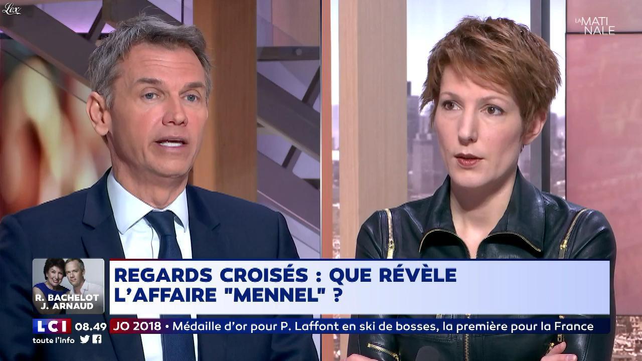 Natacha Polony dans la Matinale. Diffusé à la télévision le 12/02/18.