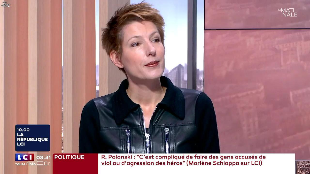 Natacha Polony dans la Matinale de LCI. Diffusé à la télévision le 31/10/17.