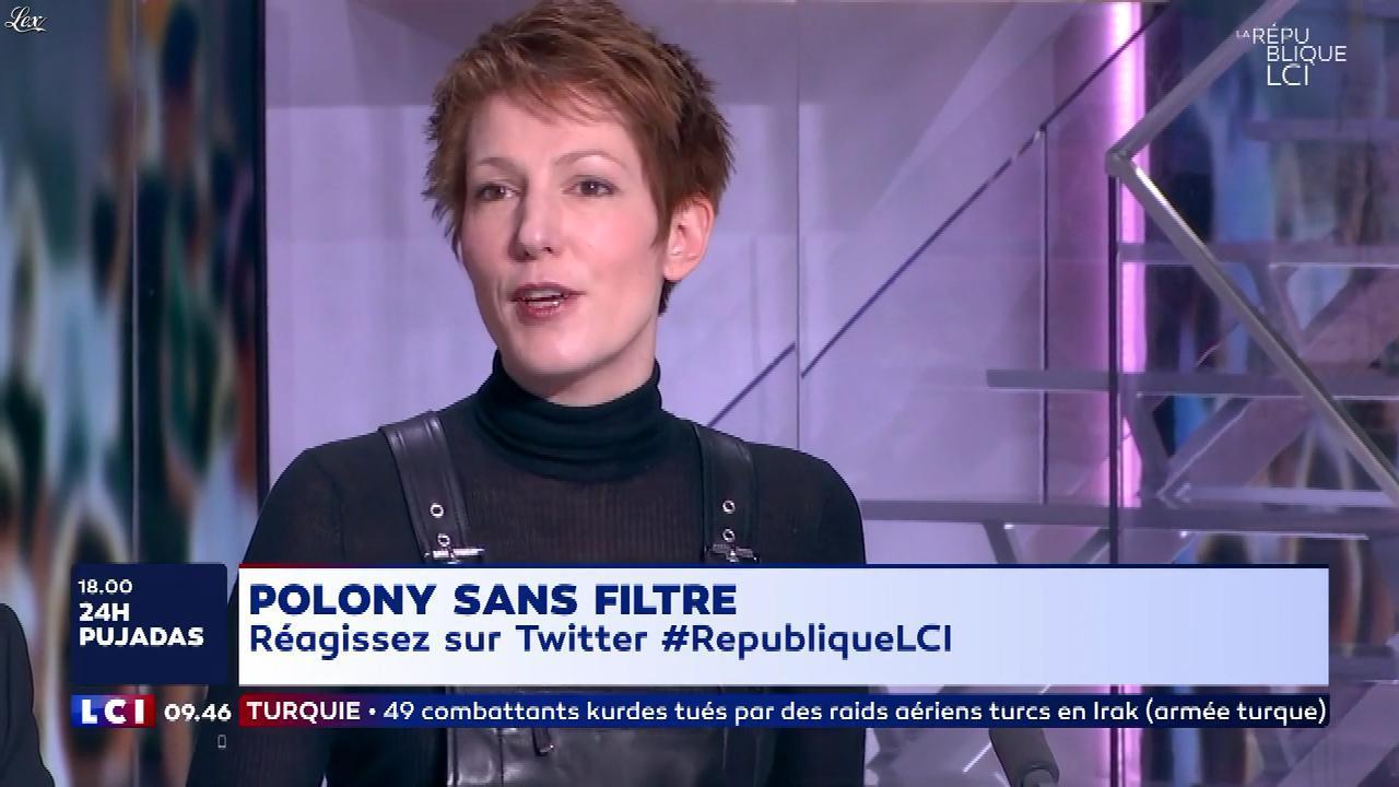 Natacha Polony dans la Republique LCI. Diffusé à la télévision le 01/02/18.