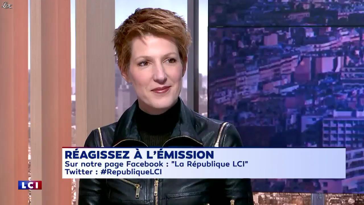 Natacha Polony dans la Republique LCI. Diffusé à la télévision le 01/12/17.
