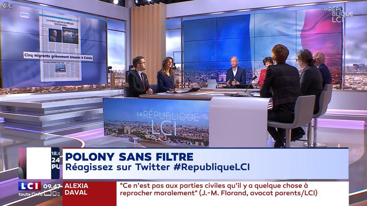 Natacha Polony dans la Republique LCI. Diffusé à la télévision le 02/02/18.