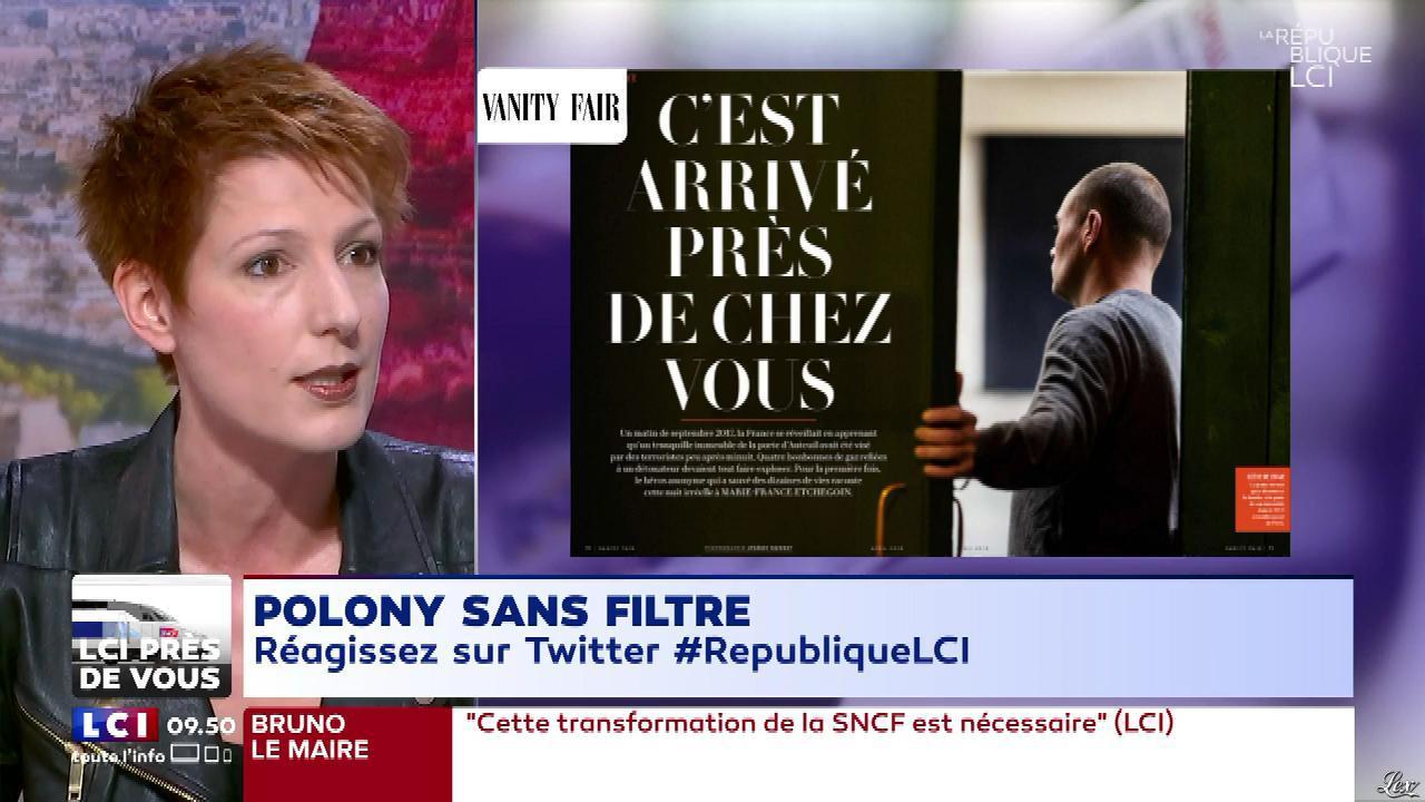 Natacha Polony dans la Republique LCI. Diffusé à la télévision le 04/04/18.