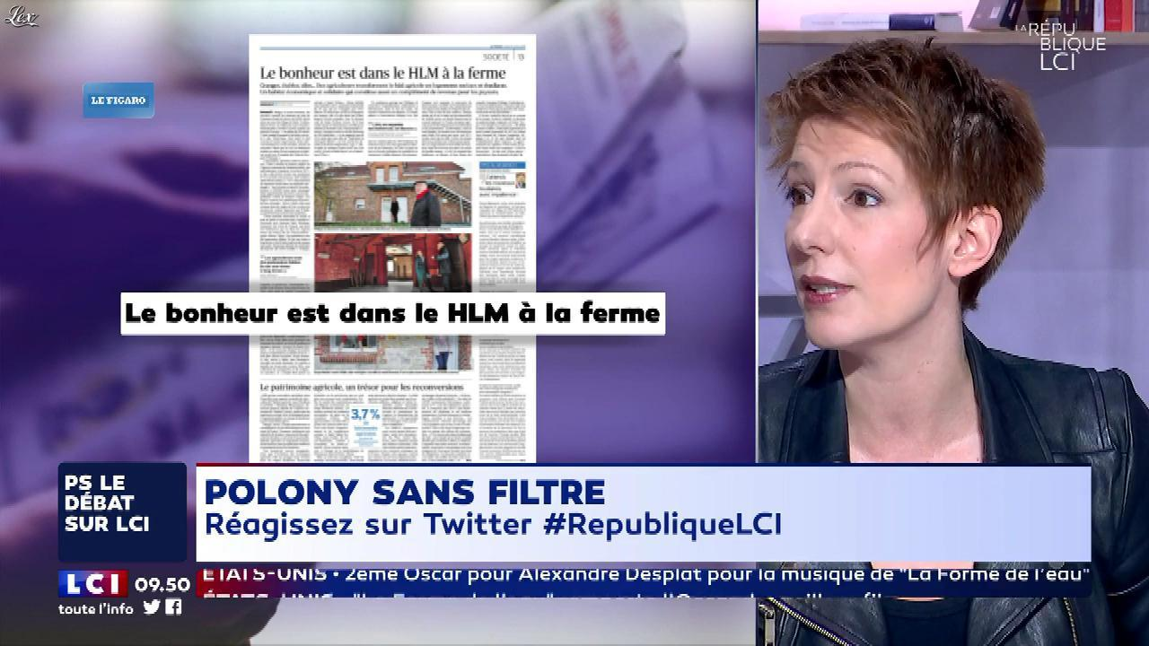 Natacha Polony dans la Republique LCI. Diffusé à la télévision le 05/03/18.