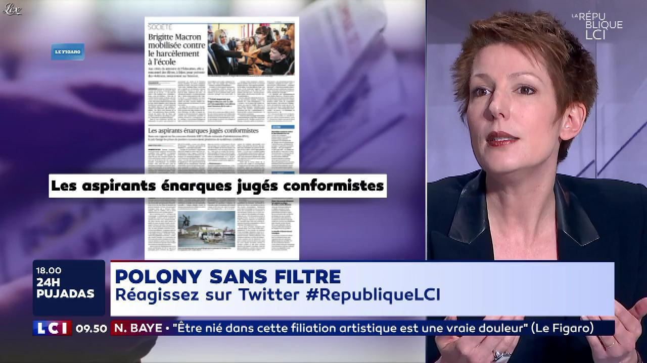 Natacha Polony dans la Republique LCI. Diffusé à la télévision le 06/03/18.
