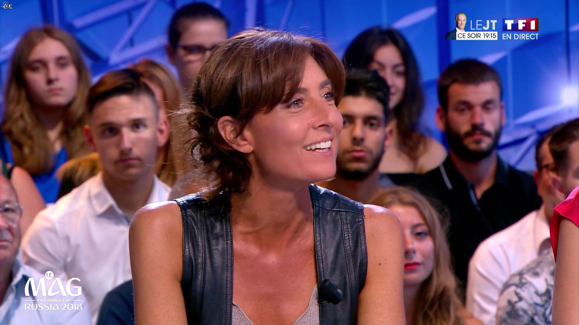 Nathalie Ianneta dans le Mag. Diffusé à la télévision le 21/06/18.