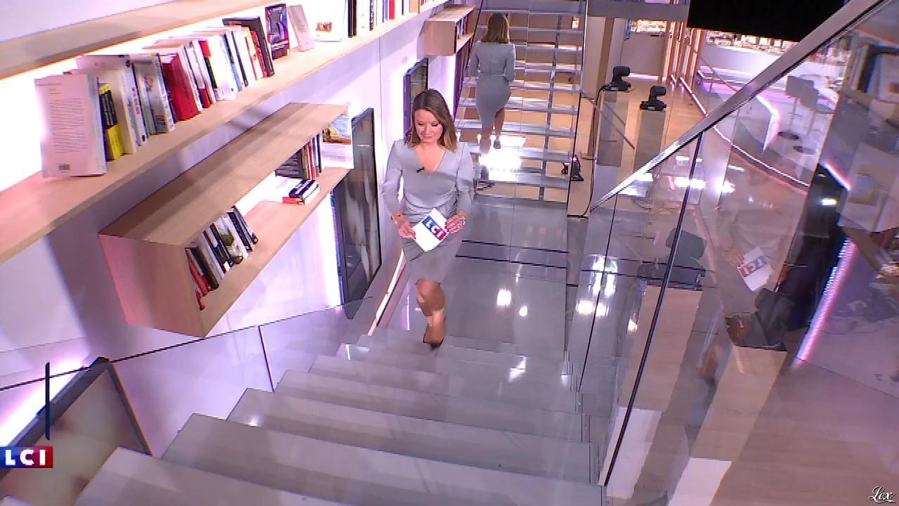 Pascale De La Tour Du Pin dans la Matinale. Diffusé à la télévision le 01/02/18.