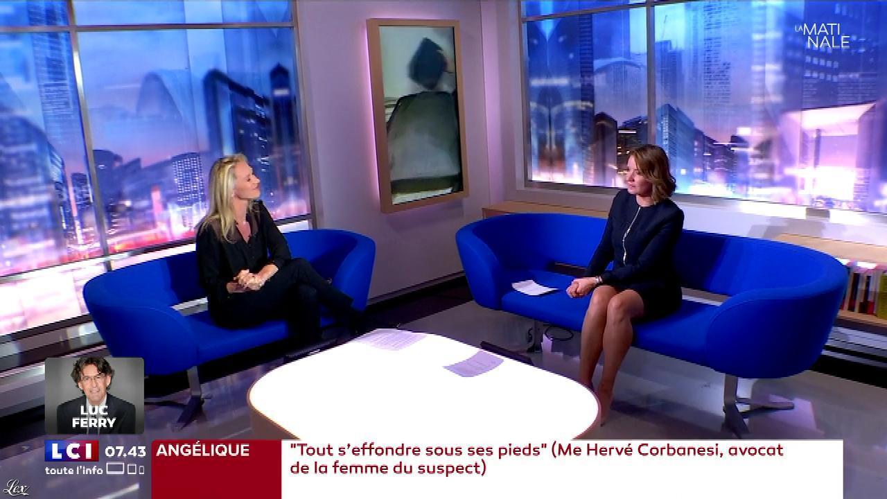 Pascale De La Tour Du Pin dans la Matinale. Diffusé à la télévision le 02/05/18.