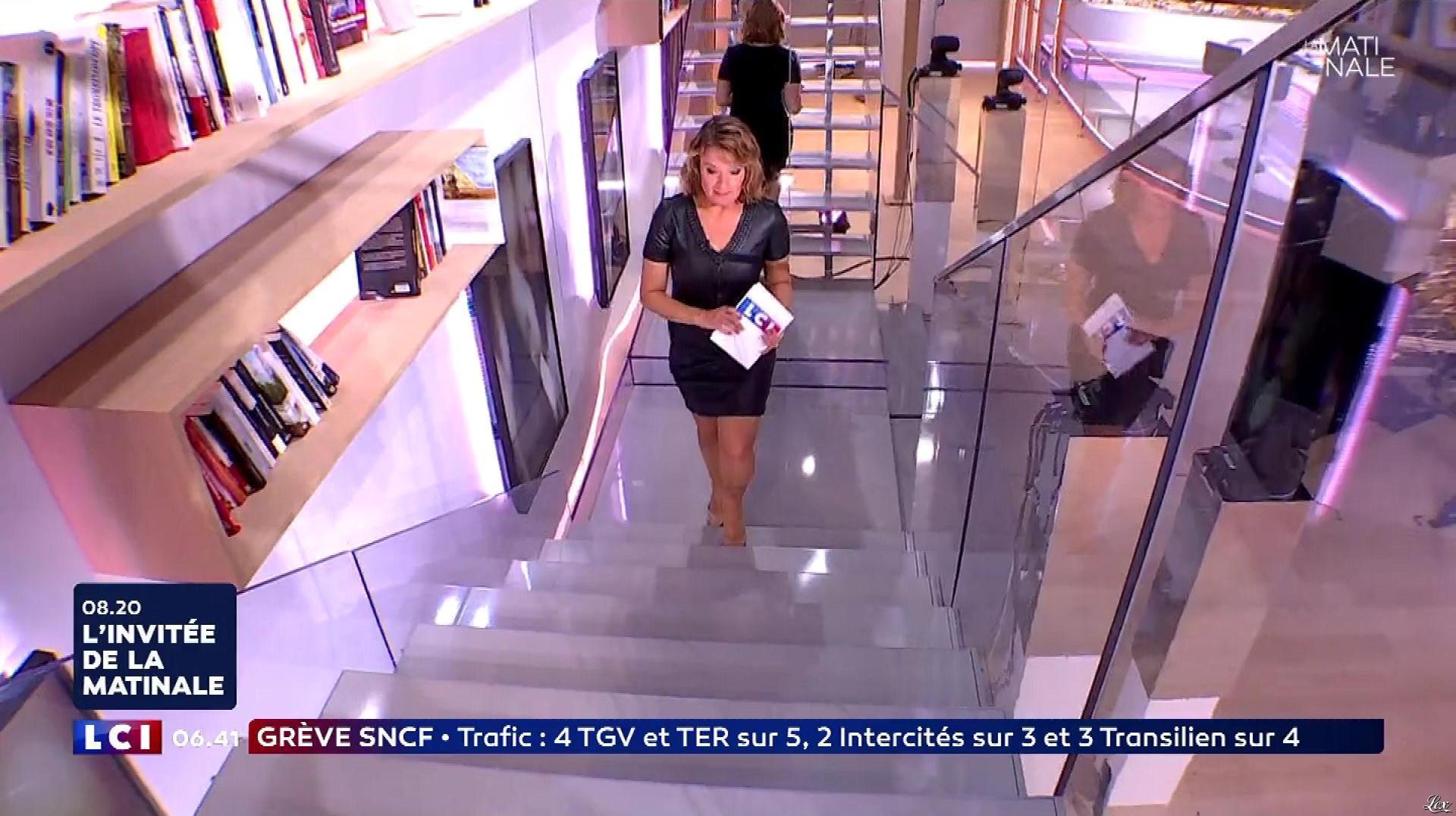 Pascale De La Tour Du Pin dans la Matinale. Diffusé à la télévision le 06/07/18.
